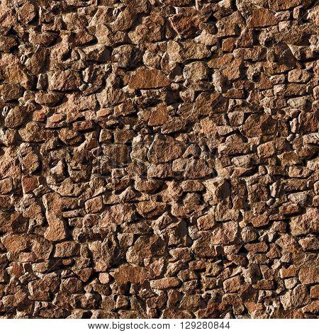 Seamless stony wall texture background.