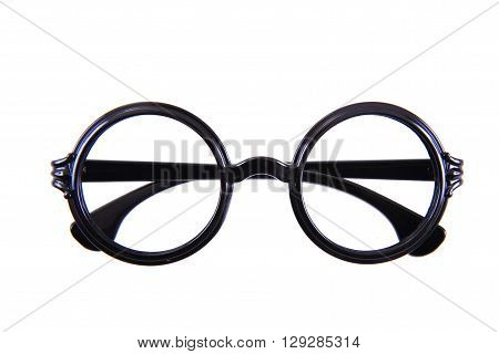 Circle Glasses Isolated..