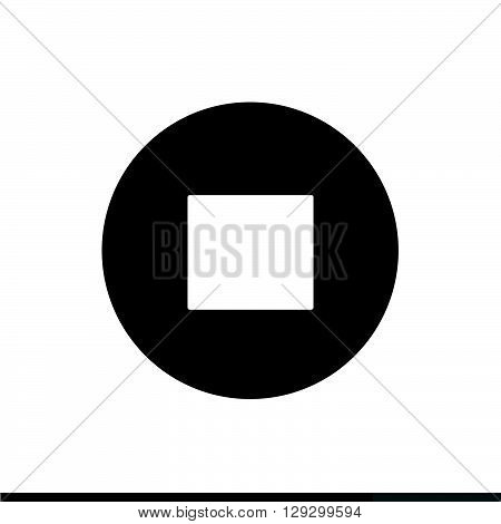 an images of Stopplaypause web icon illustration design