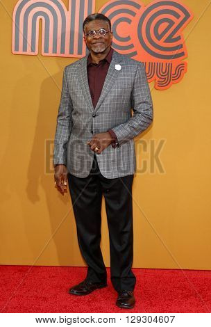 Keith David at the Los Angeles premiere of 'The Nice Guys' held at the TCL Chinese Theatre in Hollywood, USA on May 10, 2016.