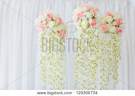 Chandelier Of Flowers