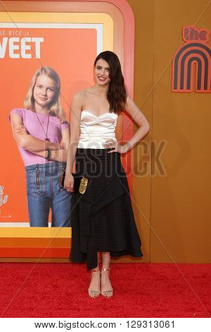 LOS ANGELES - MAY 10:  Margaret Qualley at the The Nice Guys Premiere at the TCL Chinese Theater IMAX on May 10, 2016 in Los Angeles, CA
