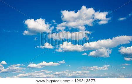 blue sky with cloud closeup, nature, ozone, air