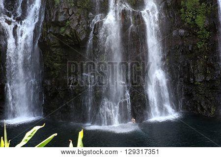 Langevin Falls, La Reunion Island, Indian Oean
