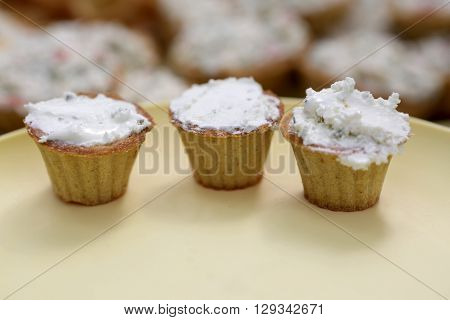 Tartlets With Cheese
