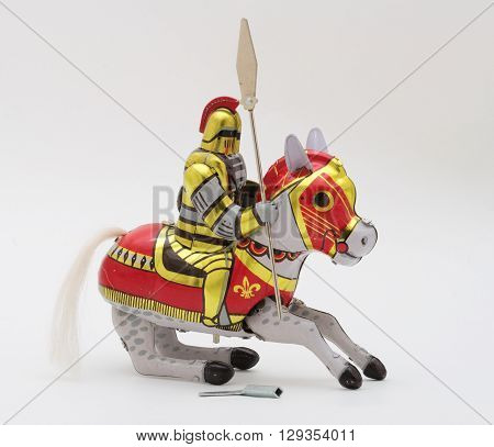Tin-Toy Series - Knight Riding A Horse