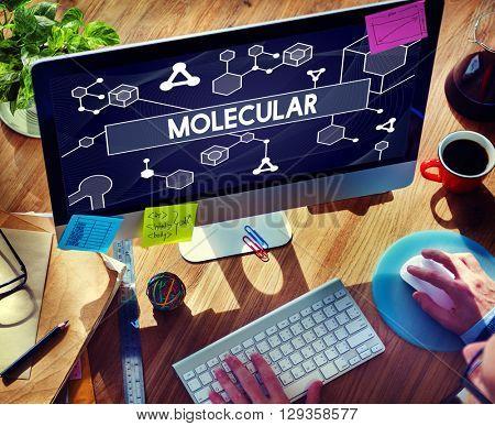 Molecular Atom Chromosome Lab Macro Concept