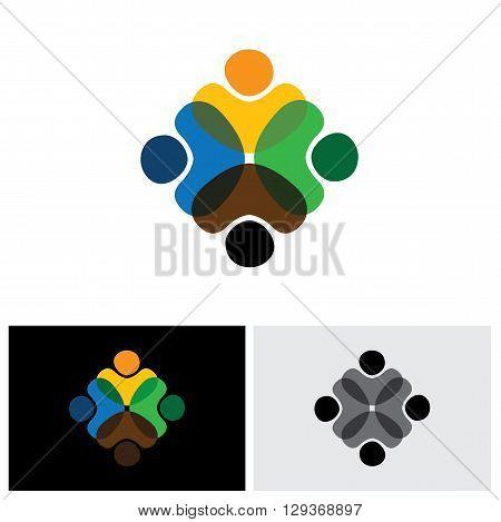 bonding vector logo icon in eps 10 format