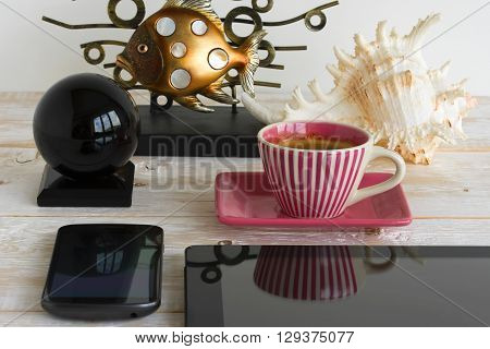 Objects On A Table