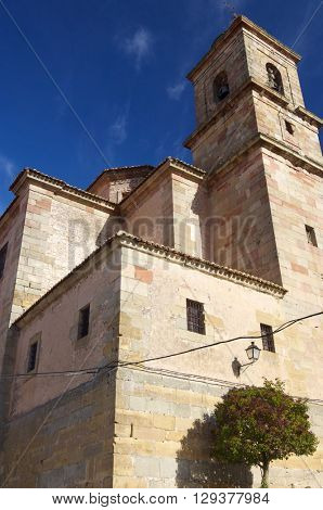 Santa Maria Church in Siguenza, Castilla La Mancha, Spain.