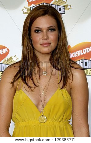 Mandy Moore at the Nickelodeon's 20th Annual Kids' Choice Awards held at the Pauley Pavilion in Westwood, USA on March 31, 2007.