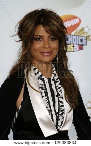 Paula Abdul at the Nickelodeon's 20th Annual Kids' Choice Awards held at the Pauley Pavilion in Westwood, USA on March 31, 2007.