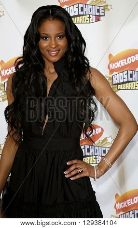 Ciara at the Nickelodeon's 20th Annual Kids' Choice Awards held at the Pauley Pavilion in Westwood, USA on March 31, 2007.
