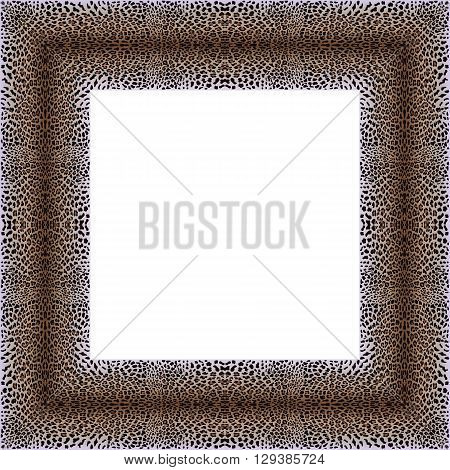Leopard Decorative Frame