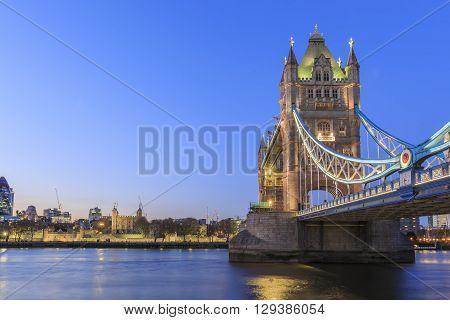 The Famous Tower Bridge