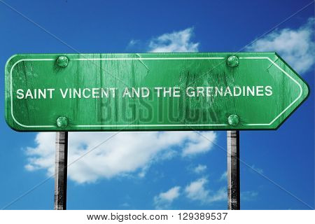 saint vincent and the grenadines, 3D rendering, a vintage green
