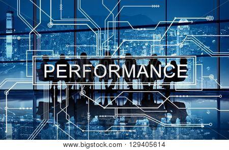 Performance Skill Experience Accomplishment Concept