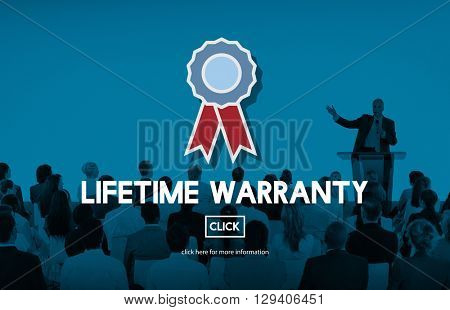 Lifetime Warranty Excellence Performance Product Concept