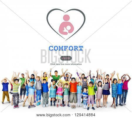 Child Training Comfort Affection Nursery Concept