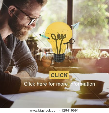 Idea Bulb Smart Inspiration Learning Concept