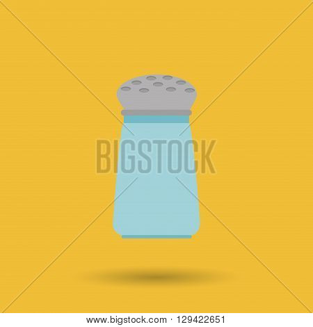 salt shaker design, vector illustration eps10 graphic
