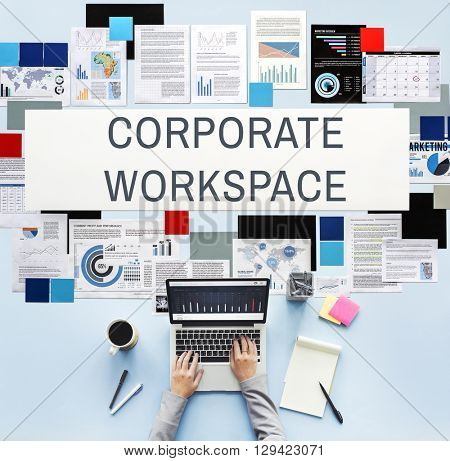Corporate Workspace Company Enterprise Concept