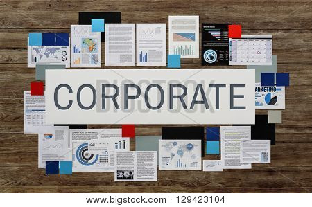 Corporate Business Organization Enterprise Group Concept