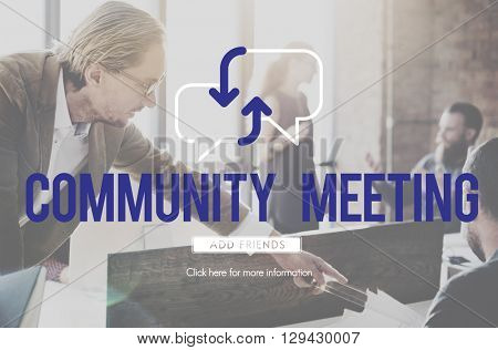 Business Community Outreach Meeting Concept