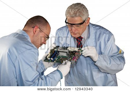 motherboard inspection