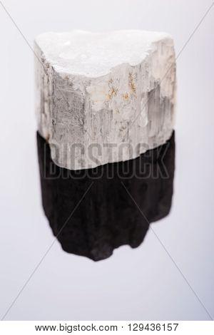Selenite Stone Macro