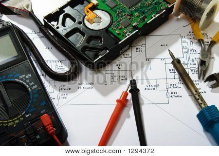 Reparación de electrónica