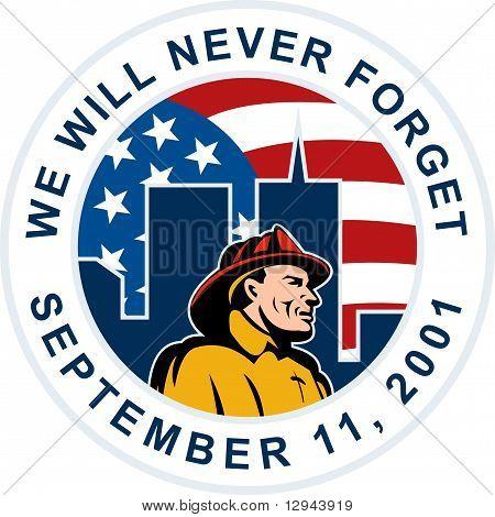 9-11 911 bombero de bombero