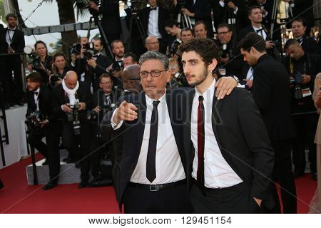 Sergio Castellitto attends the 'Cafe Society' premiere and the Opening Night Gala during the 69th Cannes Film Festival at the Palais des Festivals on May 11, 2016 in Cannes, France.