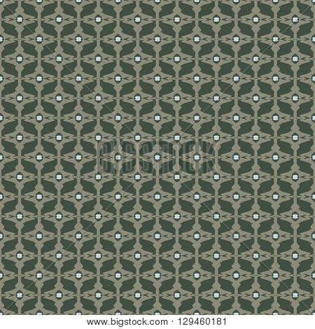 Background vector illustration seamless pattern decorative grille.