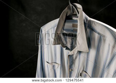 Male Shirt On Hanger