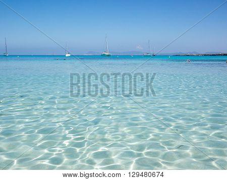 Waters Of Cala Saona