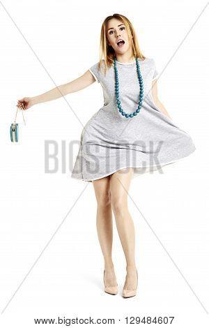 Attractive Woman Singing