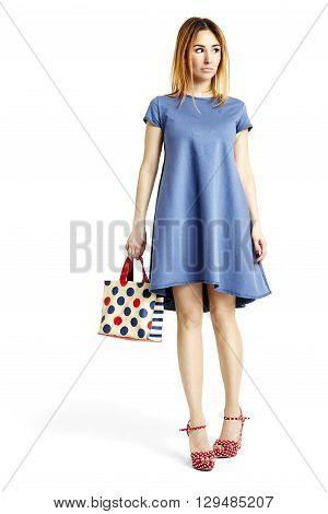 Woman During Shopping
