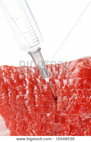 biological probe from a beef