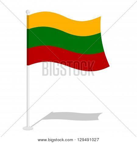 Bolivia Flag. Official National Symbol Of Bolivian Plurinational State Of Bolivia. Traditional Boliv