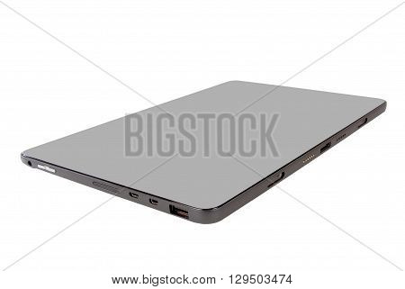 tablet 4g smart technology against white backround