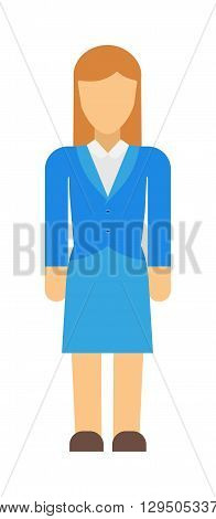 Business woman abstract silhouette vector illustration isolated. Female girl beautiful fashion abstract woman silhouette and beauty design abstract woman silhouette. Woman face isolated graphic style.