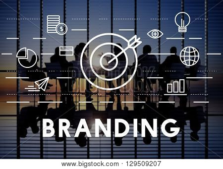Branding Advertisement Copyright Value Profile Concept