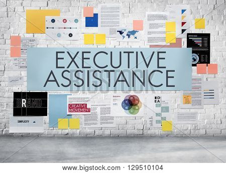 Executive Assistance Support Assist Concept