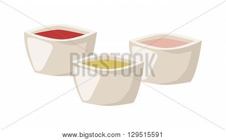 Various spices presented in glass bowl and bowl spices vector. Pepper food seasoning ingredient bowl spices and powder red cooking flavor bowl spices. Asian aromatic bowl spices bowl spices.