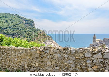 The castle of Portovenere