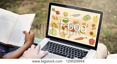 Food Calories Dining Drinking Eating Nutrition Concept