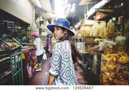 Youth Culture Travel Holiday Relaxation Concept