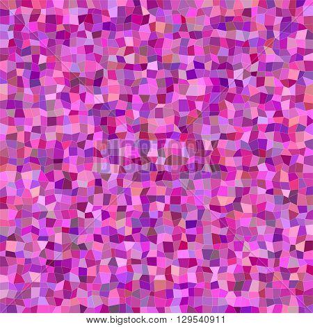 Magenta colorful irregular rectangle mosaic vector background