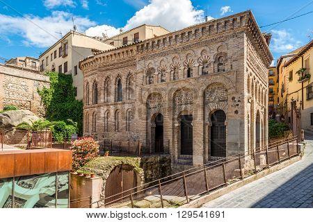 Mosque Cristo de la Luz in old Town of ToledoSpain